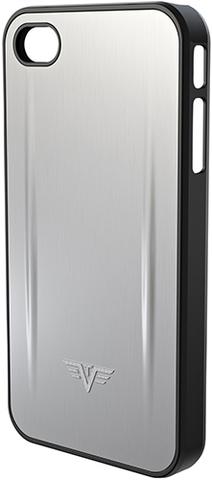 Чехол для iPhone 5 Tru Virtu Shell, цвет серебристый , 126x61x10 мм