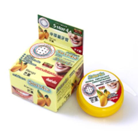 Зубная паста 5Star4a Herbal toothpaste mango