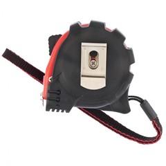 Рулетка Status Magnet 3 fixations, 3 м х 16 мм, обрезиненный корпус, зацеп с магнитом Matrix