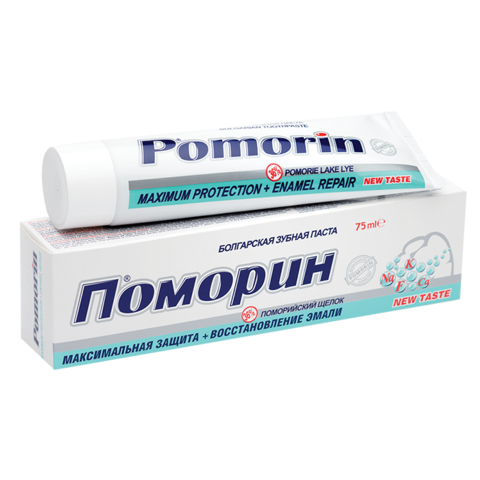 Зубная паста Pomorin® Max Protection + Enamel Repair