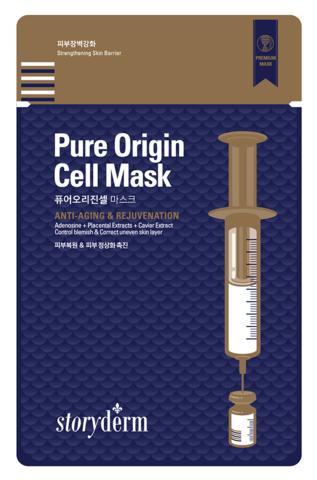 Storyderm Silk Mask  Pure Origin Cell Маска от морщин