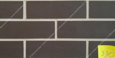 Stroeher - 330 graphit, Keravette, unglasiert, неглазурованная, гладкая, 240x52x8 - Клинкерная плитка для фасада и внутренней отделки