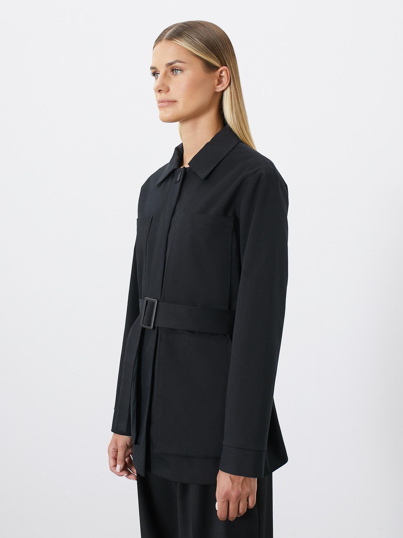 Куртка с пряжкой Савона, Черный