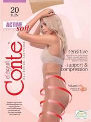 Женские колготки Active Soft 20 Conte