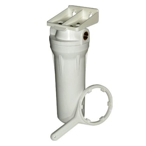 Колба фильтра AquaKit SL белая (ключ, кроншт., упак.) 3/4