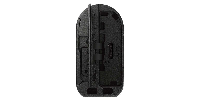 Экшн-камера Sony HDR-AS50R вид сзади открыт отсек