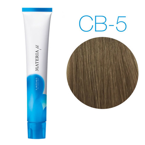 Lebel Materia Lifer CB-5 (светлый шатен холодный) -Тонирующая краска для волос