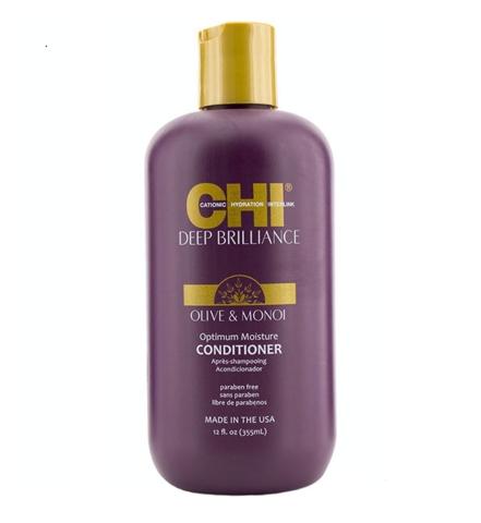 Кондиционер увлажняющий для волос CHI Deep Brilliance Optimum Moisture Conditioner, 355 мл.