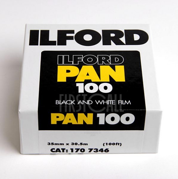 Фотопленка Ilford Pan 100 35мм 30,5 м