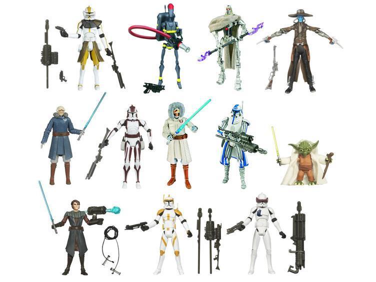 Star Wars Clone Wars Animated 2010 Wave 03
