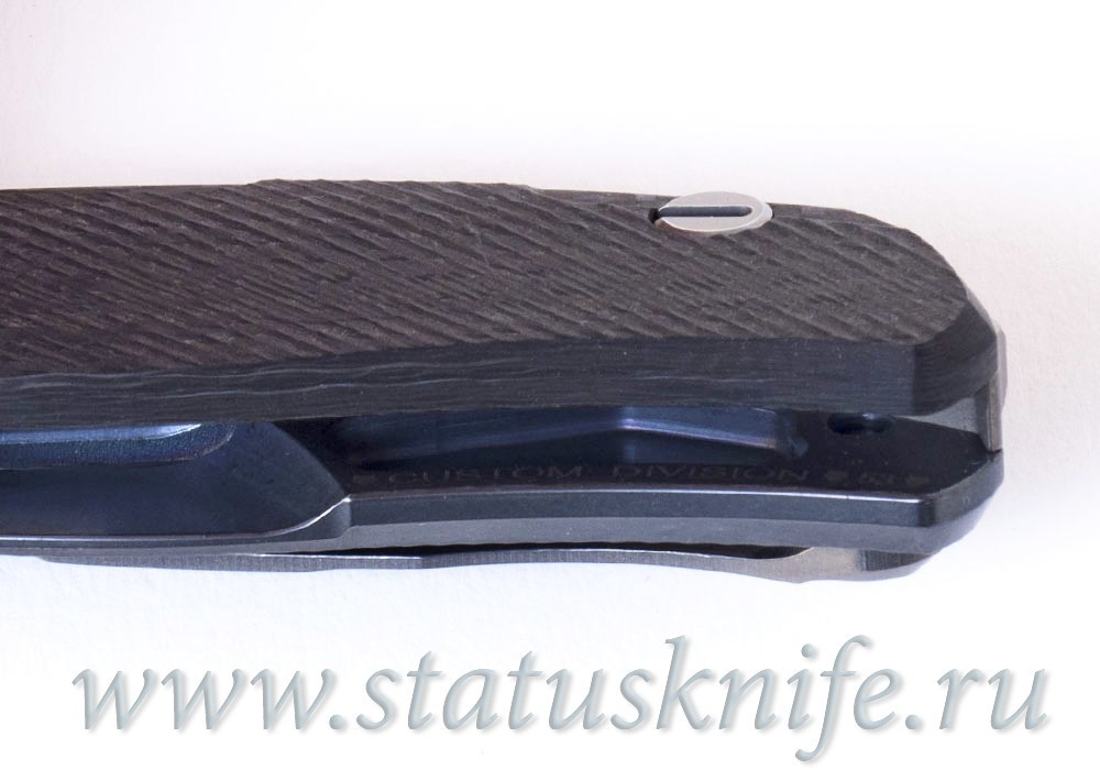 Нож Широгоров Хати Seashell Сишел 3D Кастом Дивижн - фотография