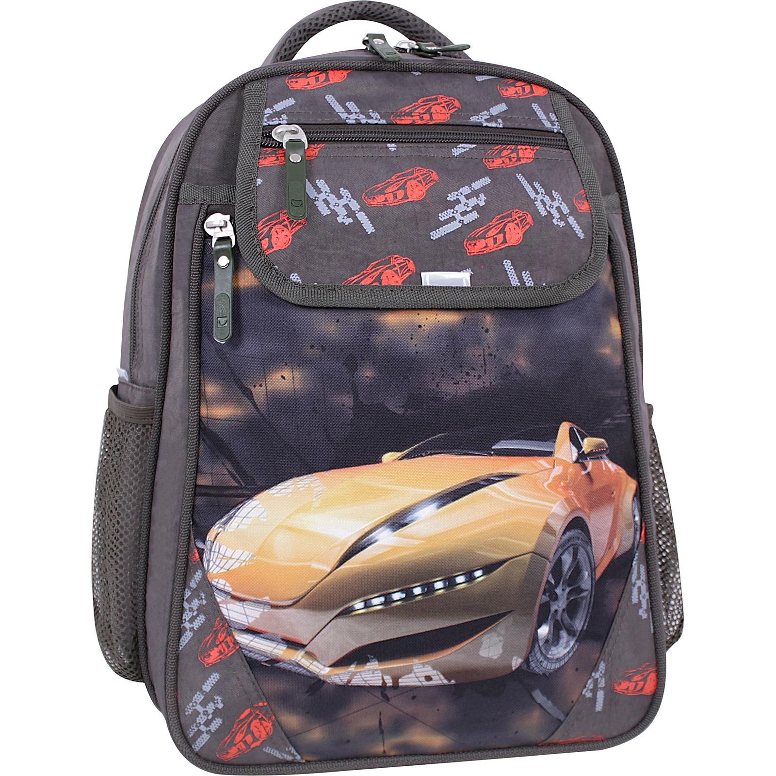 Школьные рюкзаки Рюкзак школьный Bagland Отличник 20 л. хаки 666 (0058070) IMG_1232суб.666.JPG