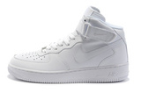 Кроссовки Женские Nike Air Force Mid White