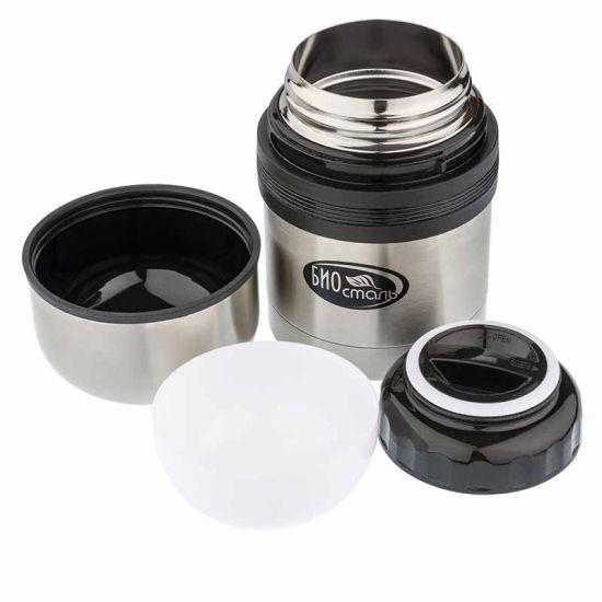 Термос универсальный (для еды и напитков) Biostal (0,5 литра), стальной