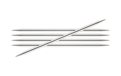 Спицы KnitPro Nova Metal чулочные 3,75 мм/15 см 10122