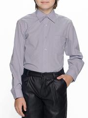 873-3 рубашка для мальчиков, серая