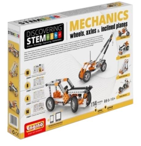 DISCOVERING STEM. Механика: колеса, оси и наклонные плоскости