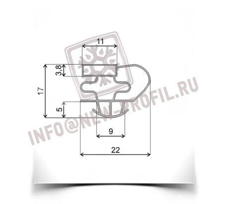 Уплотнитель 166*58 см для холодильного шкафа Helkama c5g (стеклянная дверь) Профиль 016
