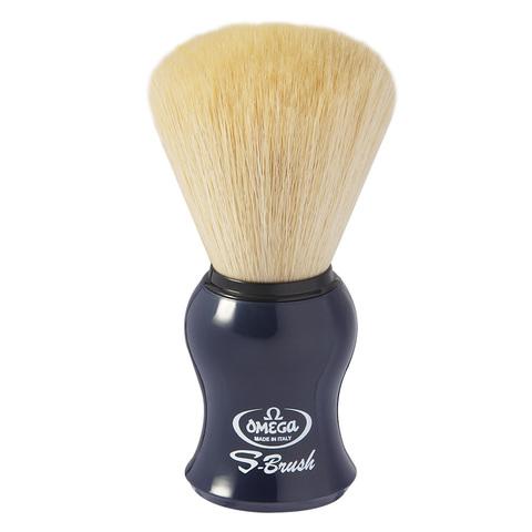 Помазок для бритья omega синий ворс S10065