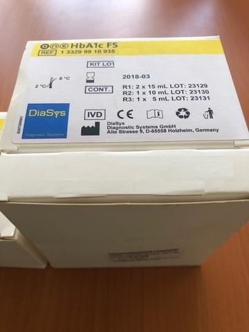 Гликозилированный гемоглобин one HbA1c FS 45мл /DiaSys Diagnostic Systems GmbH, Германия/