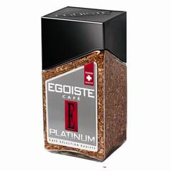 Кофе EGOISTE Platinum растворимый,100г стекло