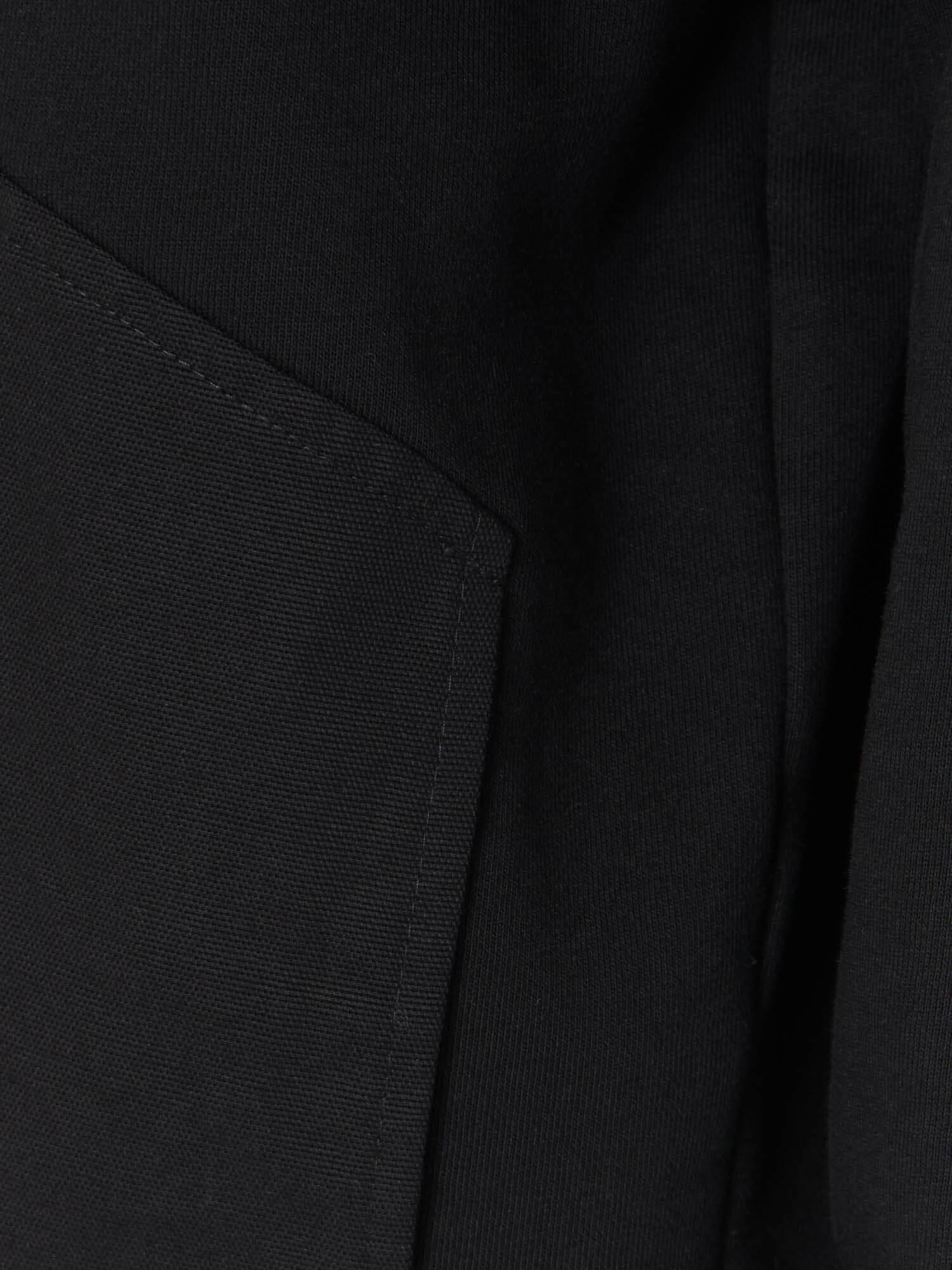 Свитшот Скаген с карманом из хлопка, Черный