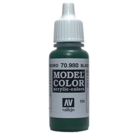 Model Color Black Green 17 ml.
