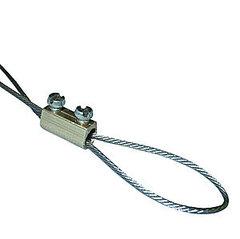 ARM-GS998 Зажим троса (d троса - 1,5 / 2мм), латунь