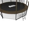 Батут Unix 10 ft Black&Brown inside - 3,05 м