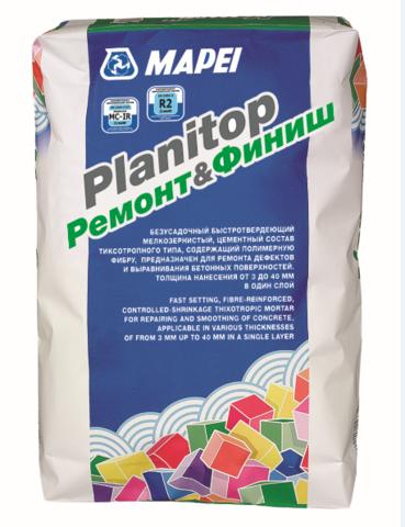 Mapei Planitop Remont & Finish/Мапей Планитоп Ремонт и Финиш цементный состав для ремонта дефектов и выравнивания бетонных поверхностей