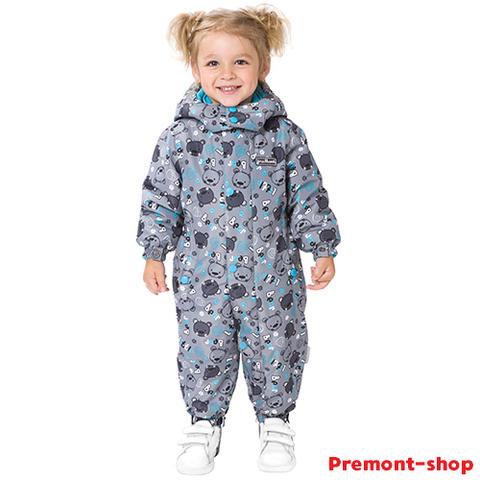 Комбинезон Premont Малыш Барибал S18301 для девочек
