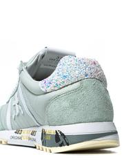 Комбинированные кроссовки Premiata Lucy-D 4549 на шнуровке