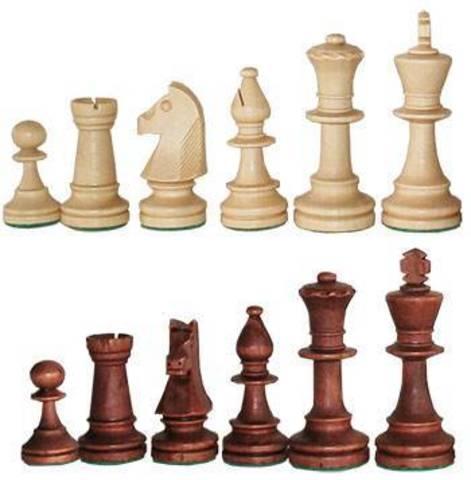 Шахматные фигуры Стаунтон №6