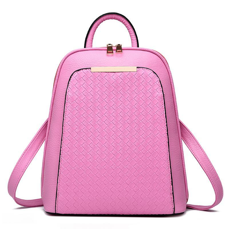 Женский рюкзак 7288 Pink