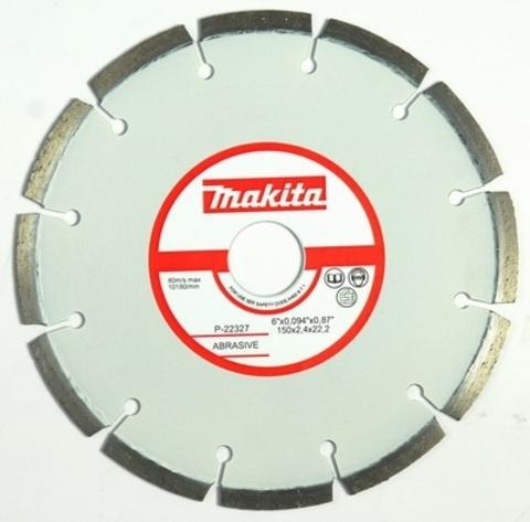 Диск алмазный сегментный MAKITA P-22327