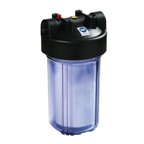 Корпус фильтра C897-ВК1-PR (корпус ВВ10, прозрачный, сбр.давл.), R
