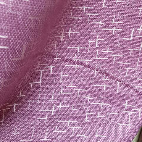 Блэкаут рогожка Штрихи сливовые оптом и на отрез. Ш-280 см. Арт. BLDJ-R18R