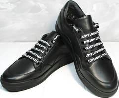 Женские модные кроссовки Rifelini by Rovigo 121-1 All Black