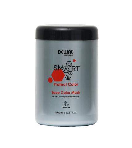 Маска Dewal Cosmetics  (DCC20102) для окрашенных волос SMART CARE Protect Color Save Color Mask 1000 мл