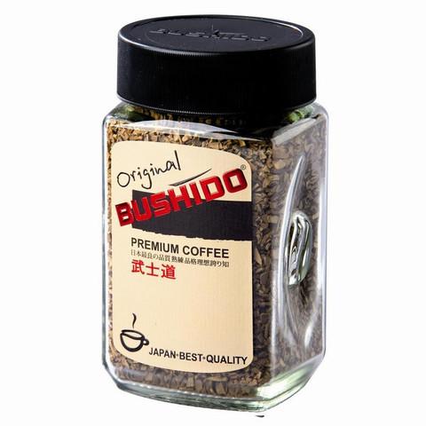 Кофе BUSHIDO Original растворимый,100г стекло
