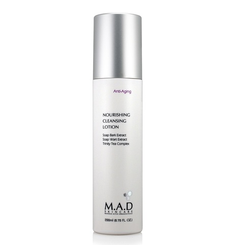 Лосьон для лица питательный очищающий M.A.D Skincare Anti-Aging Nourishing Cleansing Lotion, 200 мл