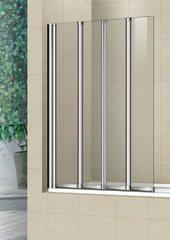 Стеклянная шторка на ванну Welt-Wasser WW 100ZF4 100