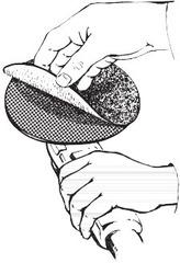 Шлиф. круг на тканевой основе с липучкой (CER) ⌀ 115 мм