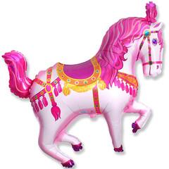 F Мини фигура Цирковая лошадь (фуксия) / Horse Circuc (14
