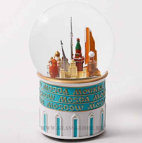 Снежный шар Москва