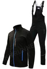 Утеплённый лыжный костюм Nordski Active Black 2020 мужской