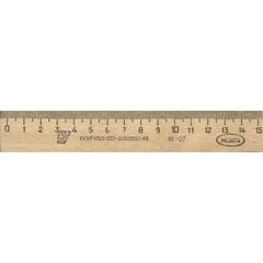 Линейка Можга деревянная 15 см