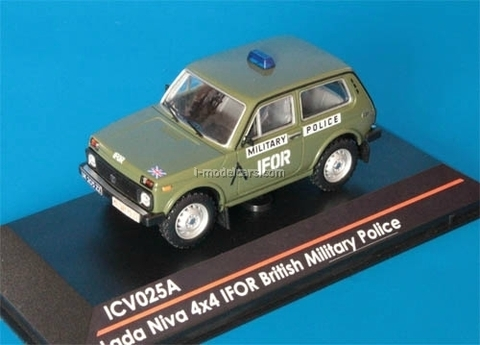 VAZ-21213 Lada Niva 4x4 IFOR British Military Police 1:43 ICV025A