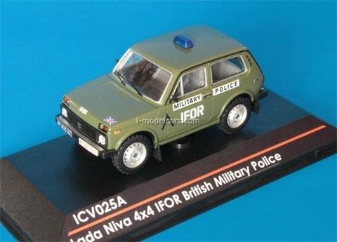 VAZ-21213 Lada Niva 4x4 IFOR British Military Police 1:43 ICV025A