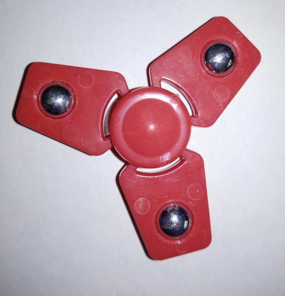 В наличии! Игрушка-антистресс спиннер Вертолёт красный